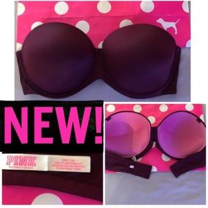 NEW! PINK PUSH-UP STRAPLESS➖36DD